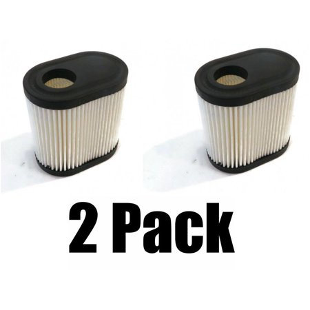 (2) AIR FILTERS for Sears Craftsman 33331 Lawn Mower with 5.5 HP Engines 4