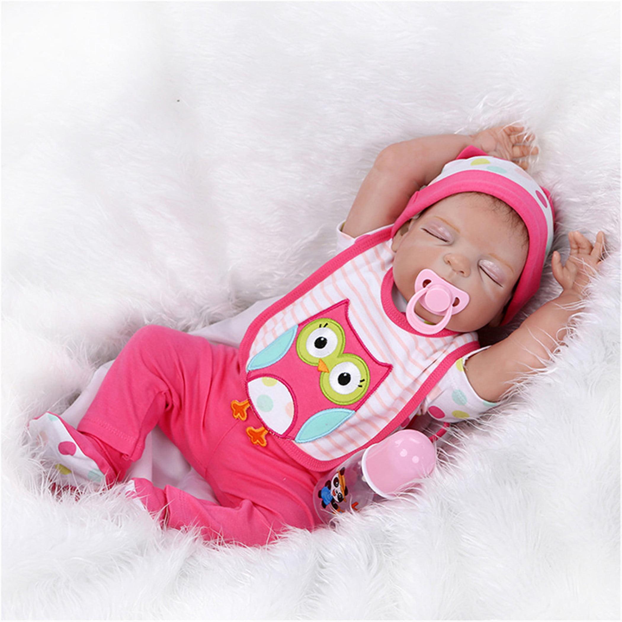 NPK Collection Reborn Baby Doll Soft Silicone vinyl 22inc...