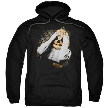 Halloween III Pumpkin Mask Mens Pullover Hoodie](3 This Is Halloween)