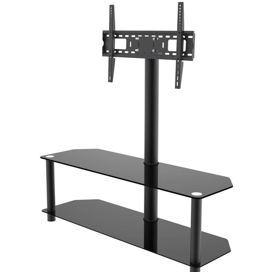 Inland Products ProHT 05449 Black TV Stand with Mount for TVs up to 60""