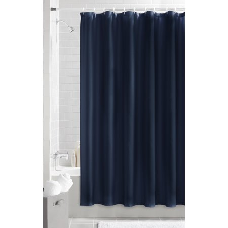 Mainstays Waffle Textured Fabric Shower Curtain 1 Each