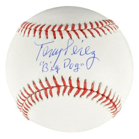 Tony Perez Cincinnati Reds Fanatics Authentic Autographed Baseball with Big Dog Inscription - No Size