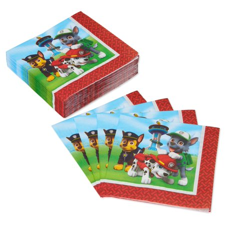 American Greetings PAW Patrol Lunch Napkins, 50-Count ()
