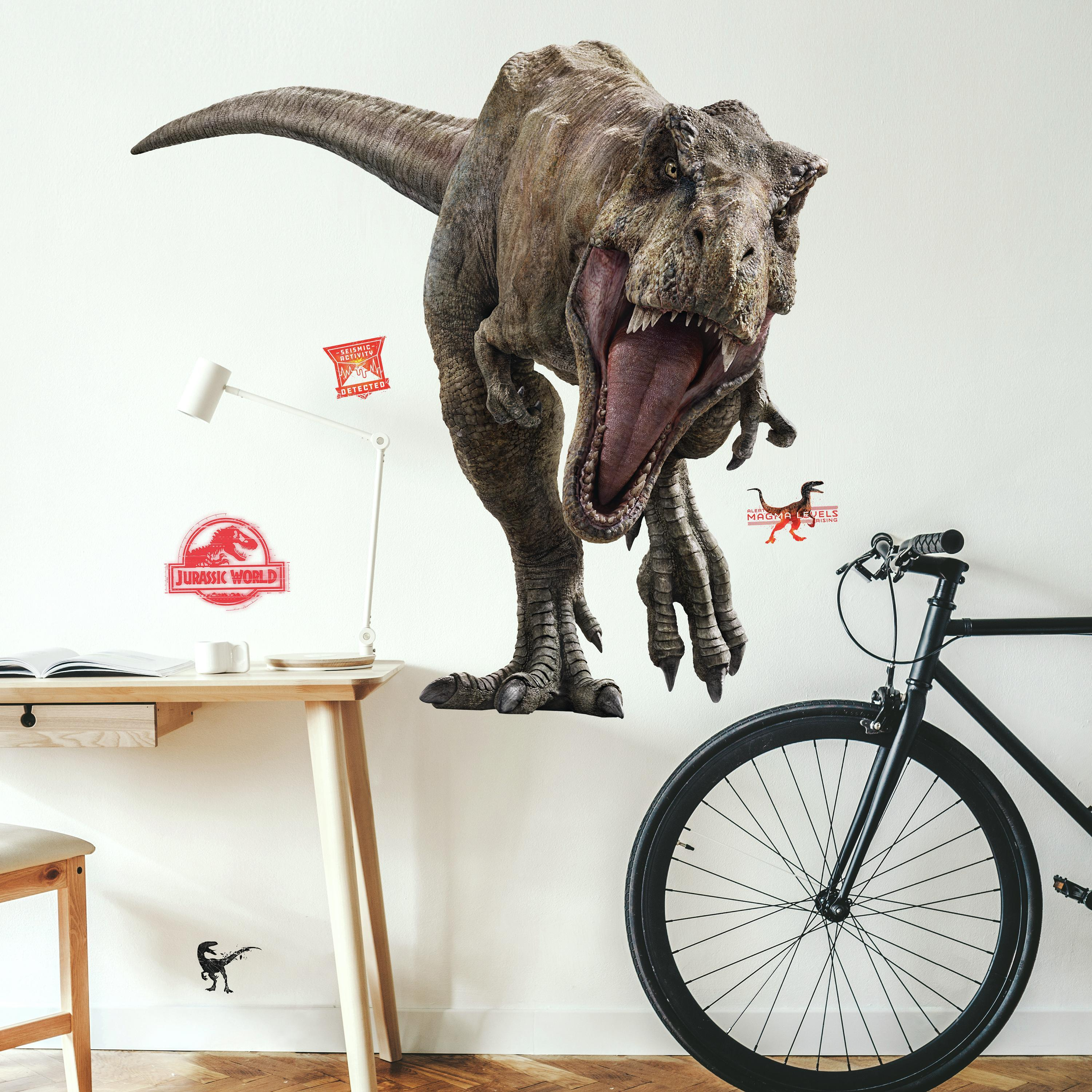 Jurassic World 2 T-Rex Giant Wall Decal