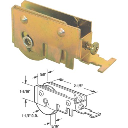 Prime Line Products 13177-S Glass Door Roller Assembly