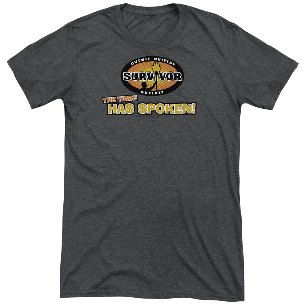 Survivor Tribe Has Spoken Mens Tri-Blend Short Sleeve Shirt