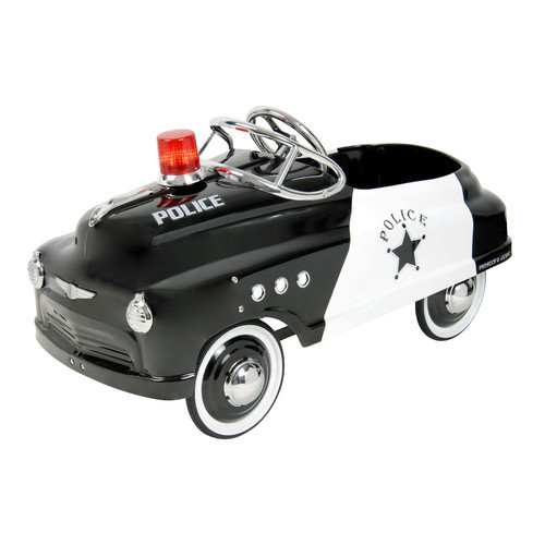 Police Comet Sedan with Siren Pedal Car