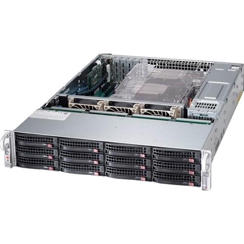Click here to buy Supermicro Computer SuperStorage Server 6028R-E1CR12H Server Rack-Mountable Barebone 2U Storage for 2 E5-2600 by Supermicro Computer.