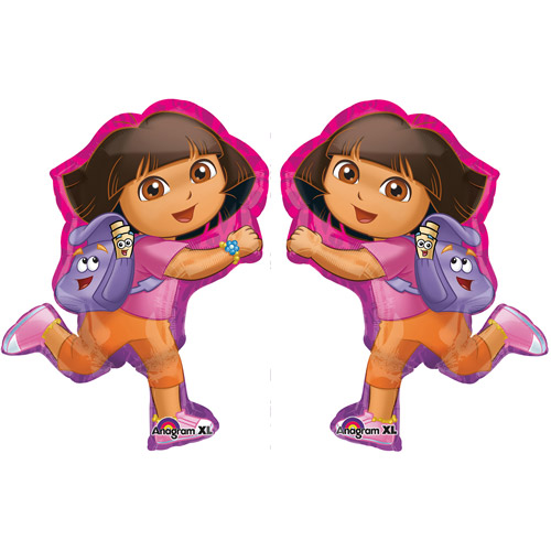 32 Anagram International 2646501 Dora Off Exploring Shop Balloon Pack