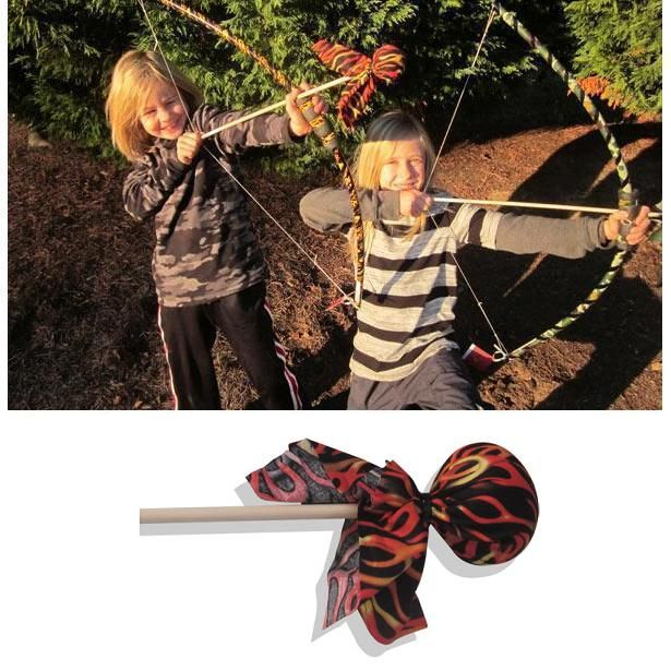 Flame Arrow (Bow Sold Separately) Archery Toy by Two Bros Bows (09-FLA) by Two Bros Bows