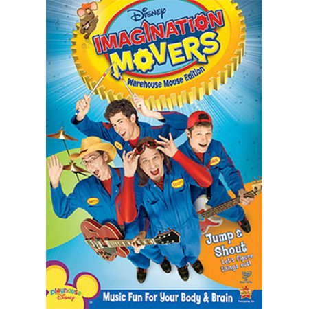 Imagination Movers Warehouse Mouse Edition Dvd Walmartcom