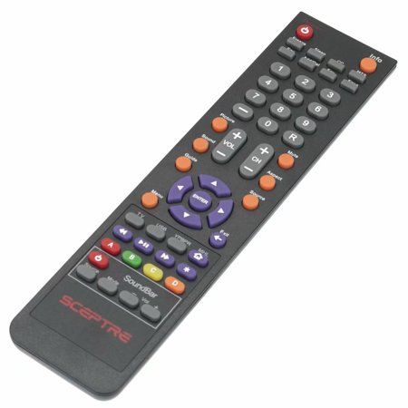 New Remote Control 142022370010C for SCEPTRE TV E195BV-SMQR E205BVSMQC E325UDMQR