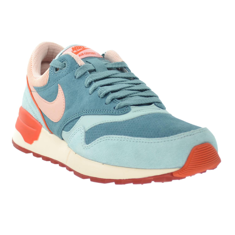 Nike Air Odyssey Leather Men's Shoes Green Haze/Arctic Orange-University Orange 684773-302