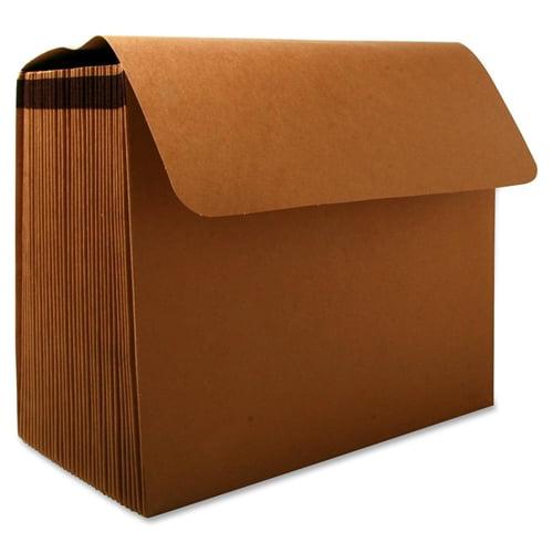 """Skilcraft Expanding Pocket File,No Flap,31 Pockets,15"""" Cap.,Letter,BN 2861723"""