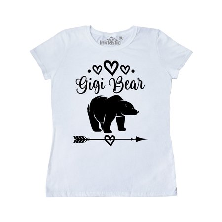 Gigi Bear Grandma Tribal Gift Women's T-Shirt ()