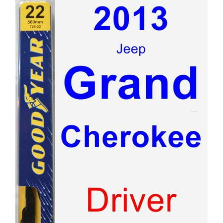 2013 Jeep Grand Cherokee Driver Wiper Blade - Premium