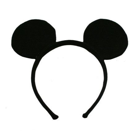 Mickey Mouse Deluxe Fabric - Personalized Mickey Mouse Ears