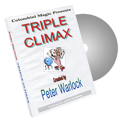 Triple Climax by Wild-Colombini Magic - DVD
