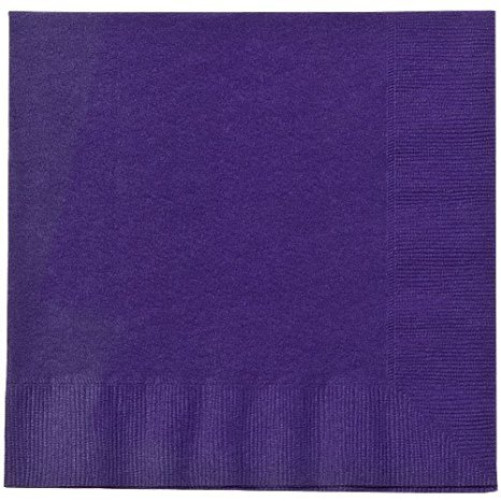 Party Dimensions 20 Count Luncheon Napkin, Purple