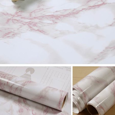5m Thickened Waterproof Creative Granite Marble Effect Contact Paper Film Self Adhesive Peel Stick Wallpaper Wall Decoration](Faux Marble Contact Paper)