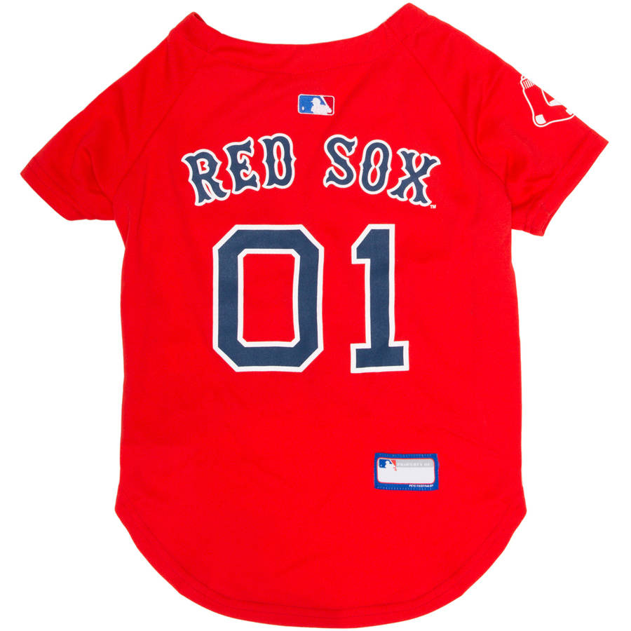 Pets First MLB Boston Red Sox Dog Jersey, XX Large