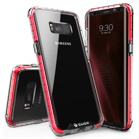 hot sale online e9aa4 63626 Galaxy S8 / S8 Plus Case, CLICK CASE Surge Series - Thin Dual Layered Cover