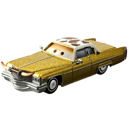 Disney / Pixar CARS Movie 1:55 Die Cast Car with Lenticular Eyes Series 1 Tex Dinoco, By Disney Pixar - Disney Cars Movie