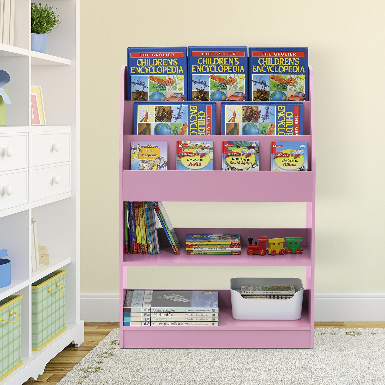 Furinno FR16118 KidKanac Magazine/Bookshelf with Toy Storage - image 1 of 1
