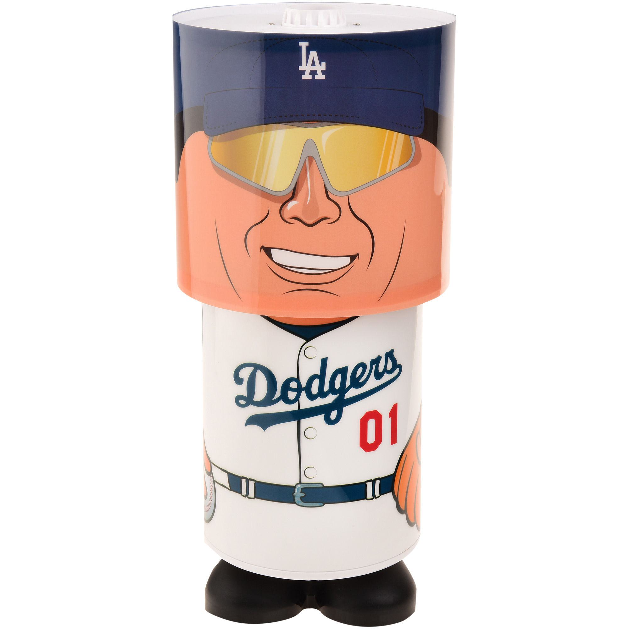 Los Angeles Dodgers Rotating Desk Lamp - No Size
