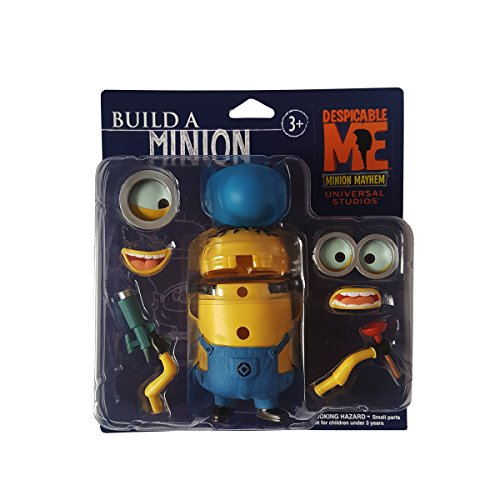"Despicable Me Minion Mayhem Build A Minion 4"" Figure by Universal Studios by"