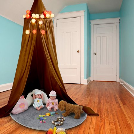 EECOO Multicolor Round Dome Hanging Bed Canopy Mosquito Net Curtain for Baby Kids Playing Home Decor,Bed Netting,Mosquito Net Curtain