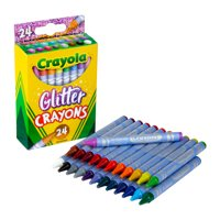 Crayola, CYO523715, Glitter Crayons, 24 / Pack, Assorted