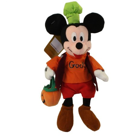 Disney Bean Bag Plush - MICKEY as GOOFY (Halloween)(Mickey Mouse)(7 inch)](Disney Mickey Halloween)