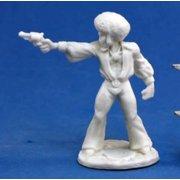 Reaper Miniatures Horace 'Action' Jackson #80023 Bones Unpainted RPG D&D Figure