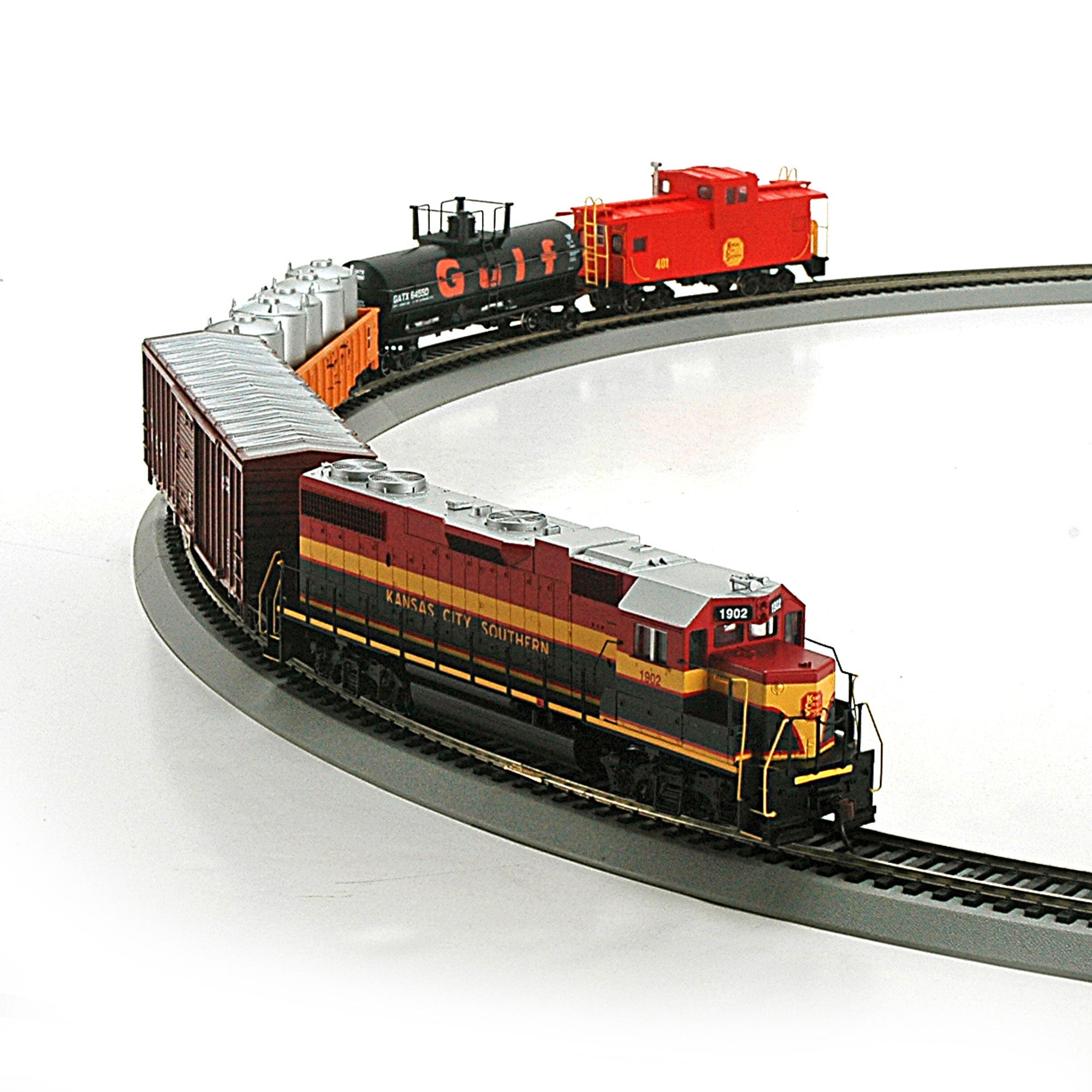 Roundhouse 14263 HO Kansas City Southern Iron Horse Train Set by Roundhouse