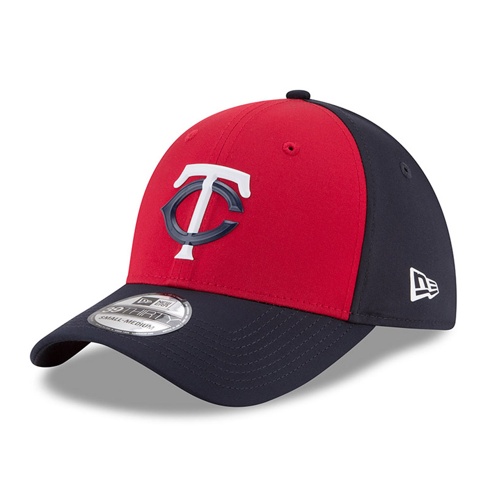 Minnesota Twins New Era 2018 On-Field Prolight Batting Practice 39THIRTY Flex Hat - Red