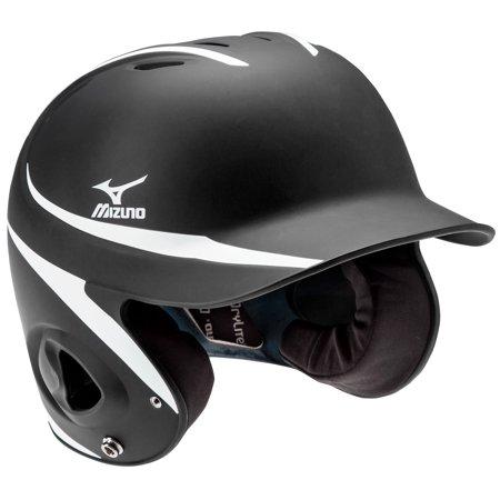 Mvp Autographed Helmet (Mizuno MBH252 MVP Adult 2-Tone Matte Baseball Batting Helmet -)