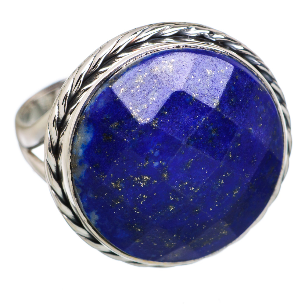 Ana Co Lapis Lazuli 925 Sterling Silver Ring Size 8.5 RING812341