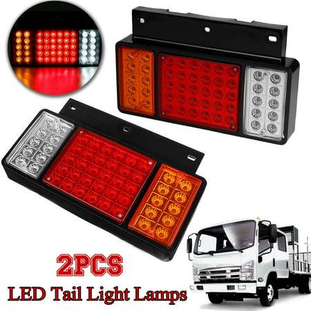 For ISUZU Elf Truck NPR NKR NHR 1984-2018 2019 Pair Rear Left Right 50 LED  Tail Light Lamps #JHGAI-F04