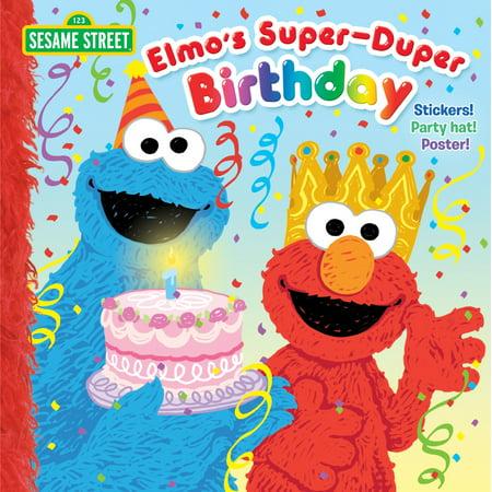 Elmo's Super-Duper Birthday (Sesame Street) - Sesame Street Halloween Book