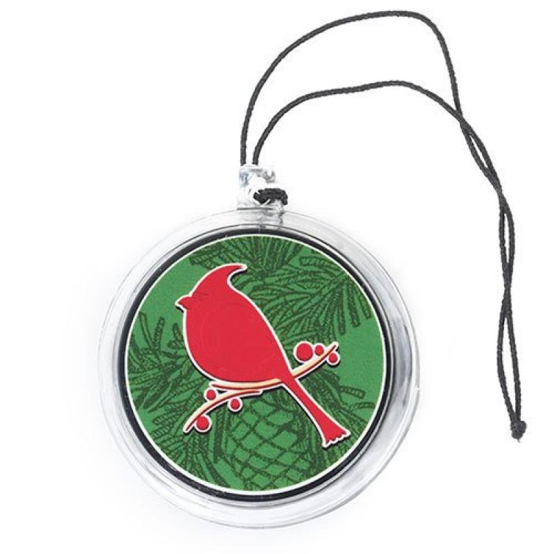 Cardinal (Balsam & Cedar) Car Jar Ultimate Air Freshener - Yankee Candle