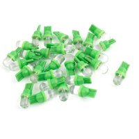 Unique Bargains 30pcs T10 194 168 W5W Green  Car Auto Interior Map Backup Light Bulb DC 12V