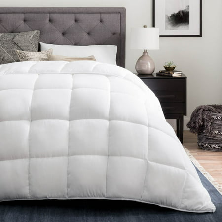 - Linenspa All-Season Reversible Down Alternative Microfiber Comforter