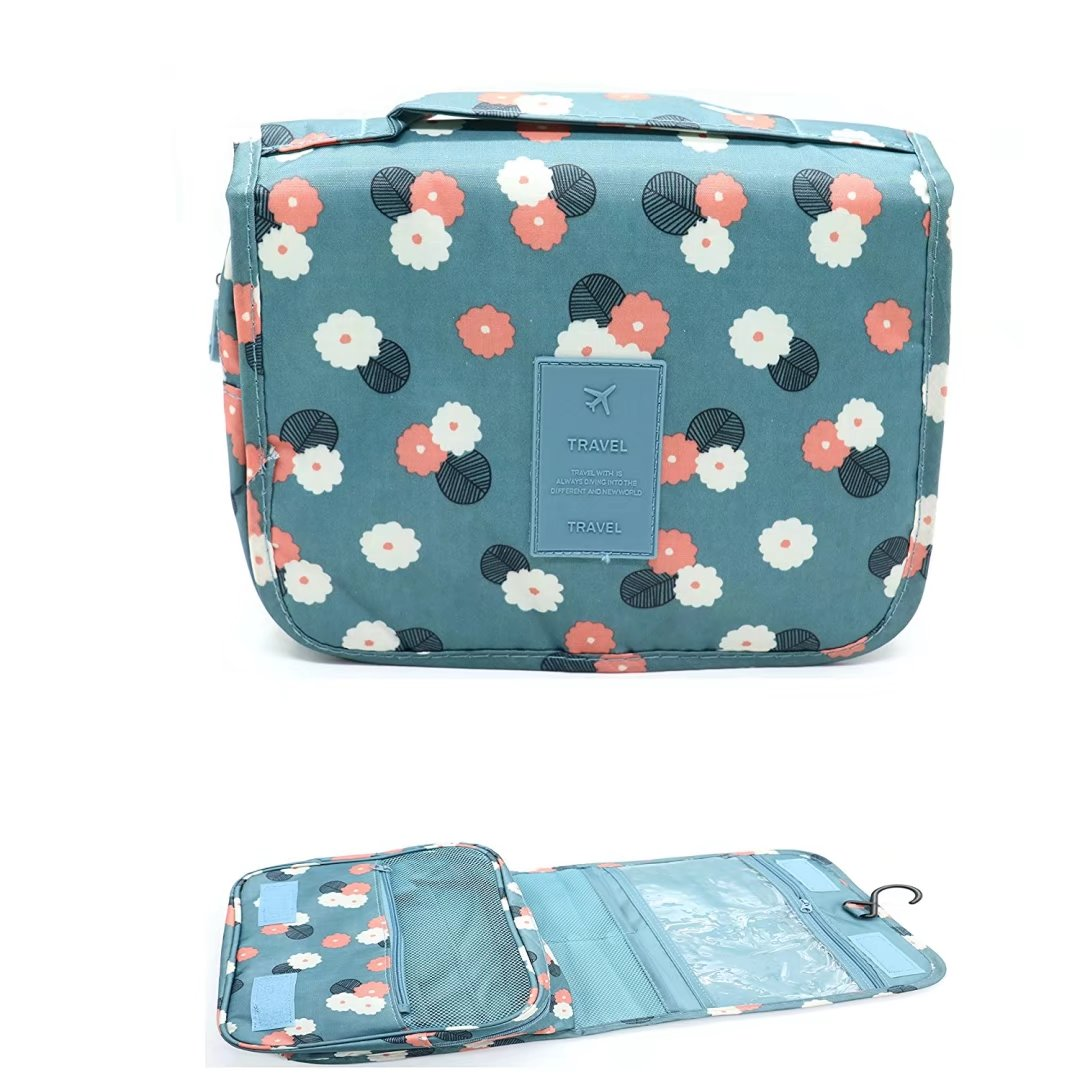 Nylon Toiletry Bag Toiletry Bag Multifunction Cosmetic Bag Portable Makeup Pouch Waterproof Travel Hanging Organizer Bag... by