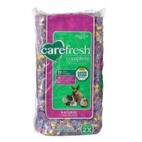 Carefresh Complete Natural Paper Bedding for Small Pets - Confetti 10 L