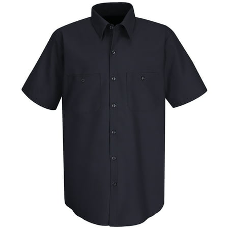 Red Kap Sc40 100 Cotton Short Sleeve Work Shirt