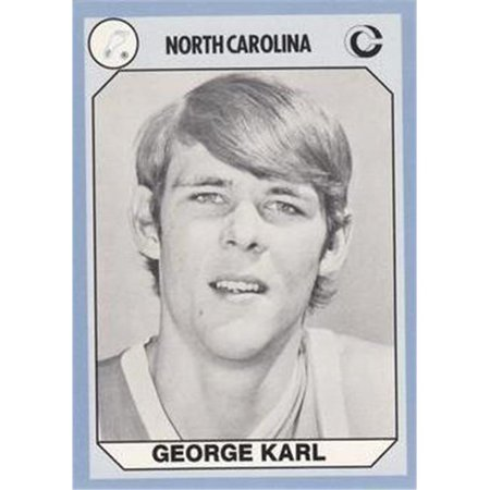 George Karl Basketball Card  North Carolina  1990 Collegiate Collection No  147