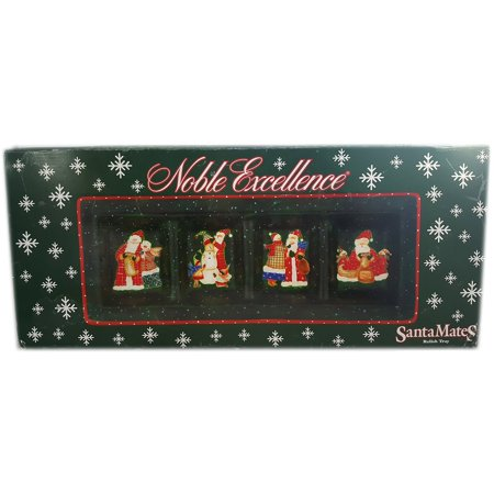 4 Part Rectangular Divided Server in Santa Mates by Noble Excellence