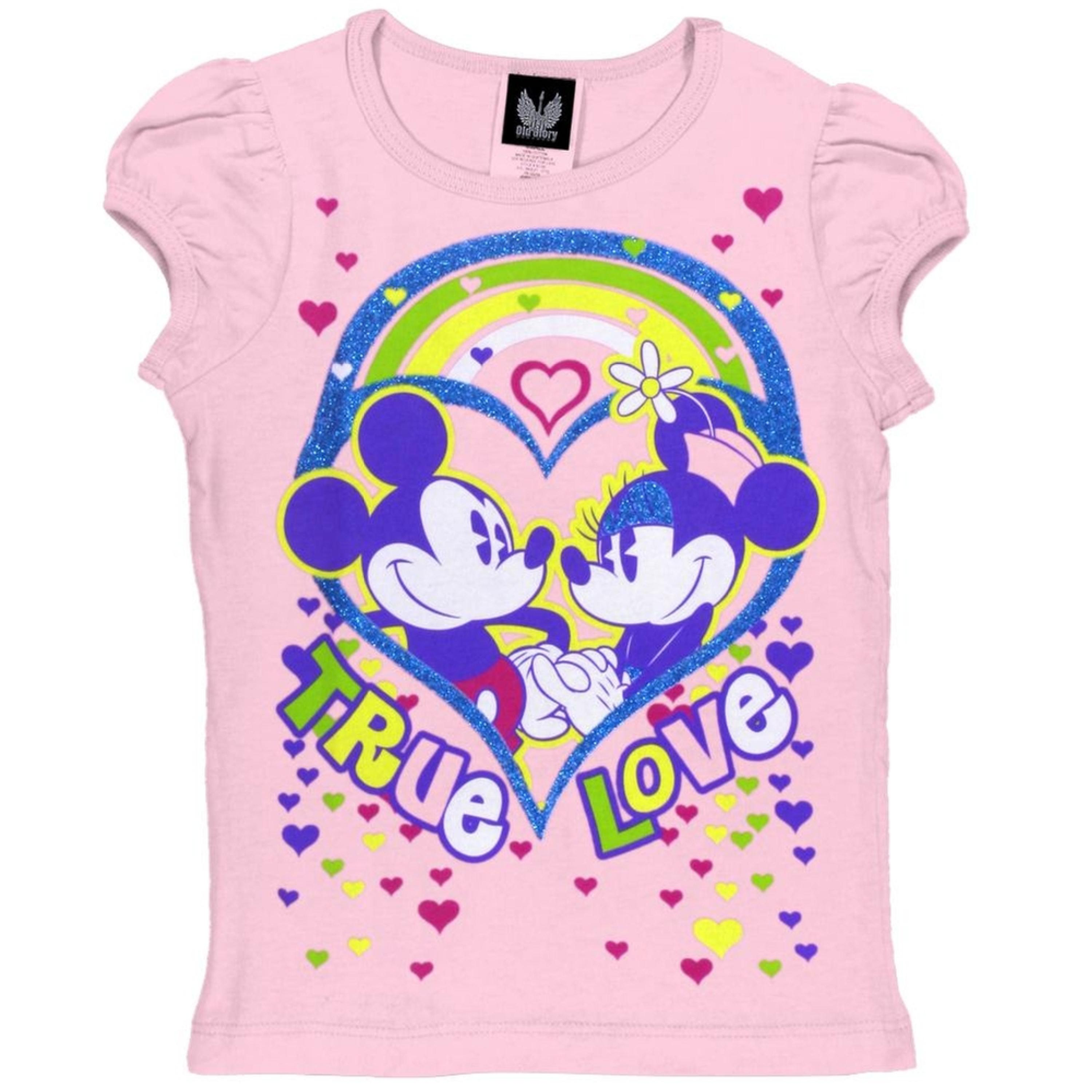 Disney - Love Hearts Girls Juvy T-Shirt