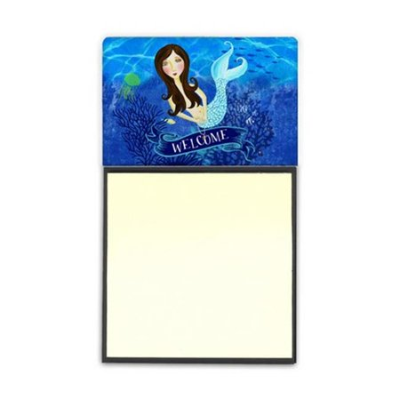 Carolines Treasures VHA3010SN Welcome Mermaid Sticky Note Holder - image 1 de 1